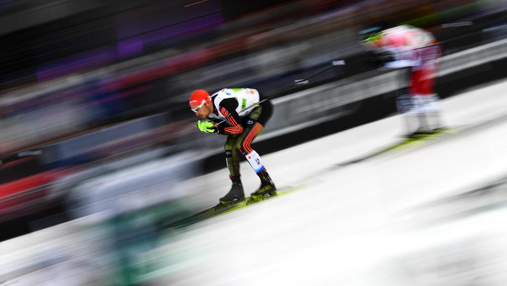 Johannes Rydzek hat für den ersten DSV-Einzelsieg des Winters gesorgt