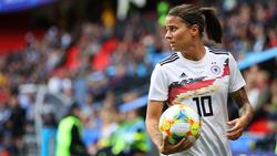 Dzsenifer Marozsán könnte im zweiten WM-Spiel fehlen