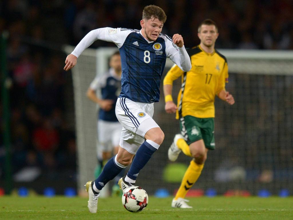 Oliver Burke gehört zu den bekanntesten Talenten der schottischen Nationalmannschaft