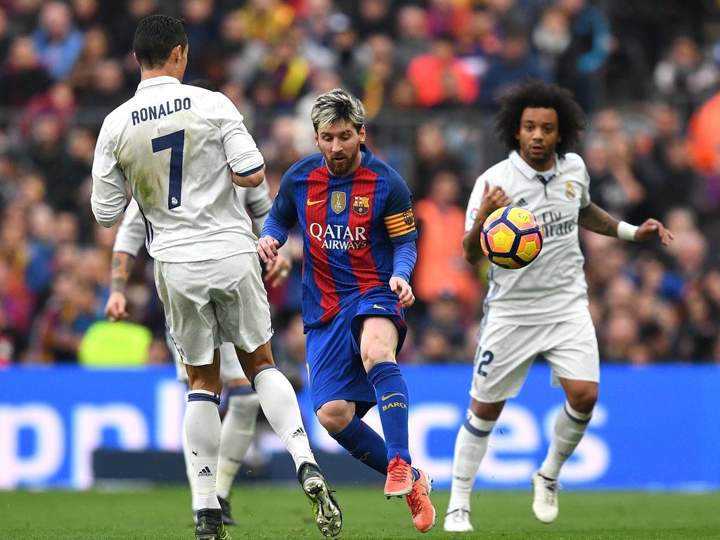 El Real Madrid empató el sábado en Barcelona. (Foto: Getty)