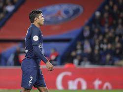 Thiago Silva no fue de la partida ayer en el Bernabéu. (Foto: Imago)