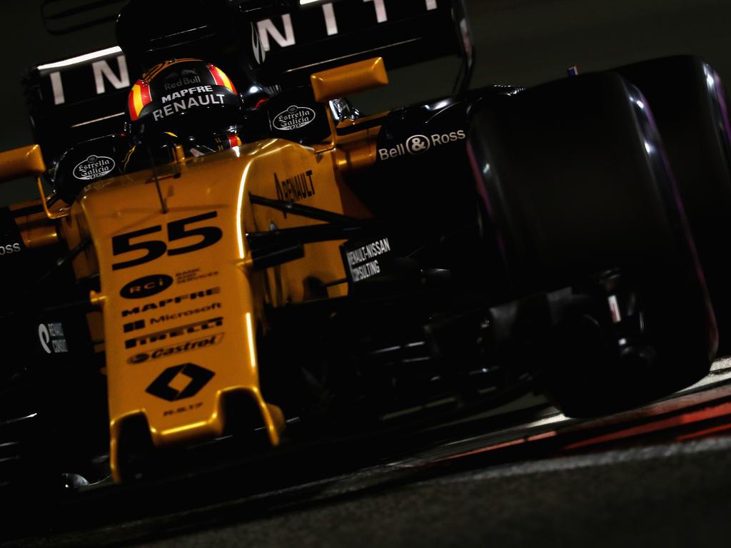 Bei den Tests vor der Saison 2017 lief der Renault-Motor nicht so wie erhofft