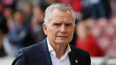 Wolfgang Dietrich war Präsident des VfB Stuttgart
