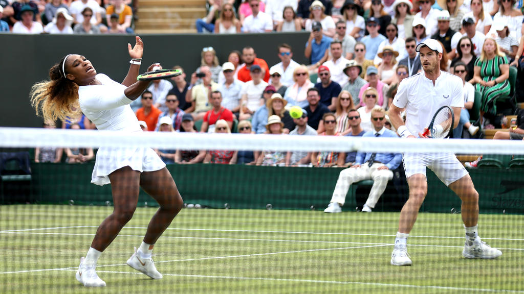 Williams und Murray unterlagen im Mixed