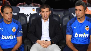Celades debutará como técnico en Champions con el Valencia.