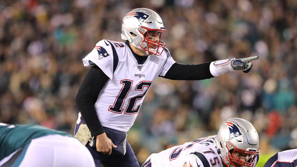 NFL-Star Tom Brady von den New England Patriots
