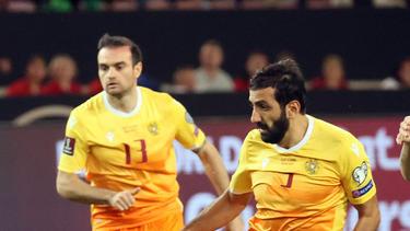 Armenien spielt nur remis gegen Liechtenstein