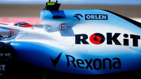 Das Logo von Rexona wird den Williams-Boliden künftig nicht mehr zieren
