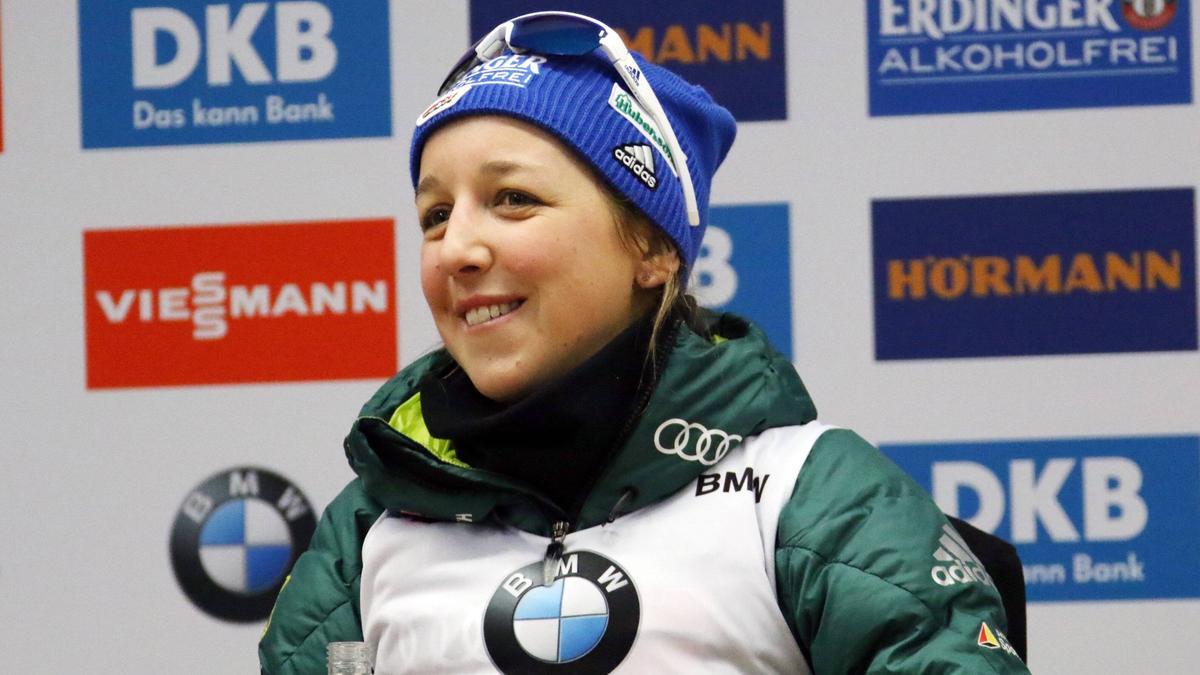 Will in Ruhpolding beim Sprint alles geben: Franziska Preuß