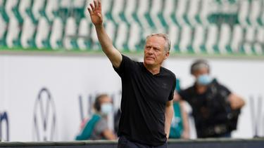 Christian Streich ist seit Januar 2012 beim SC Freiburg im Amt
