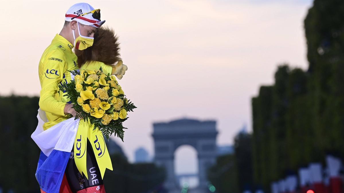 Tadej Pogacar hat die Tour de France sensationell gewonnen
