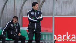Ein Hexenschuss hat Hannovers Trainer Kenan Kocak außer Gefecht gesetzt