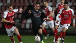 Manchester City setzte sich in Cheltenham durch