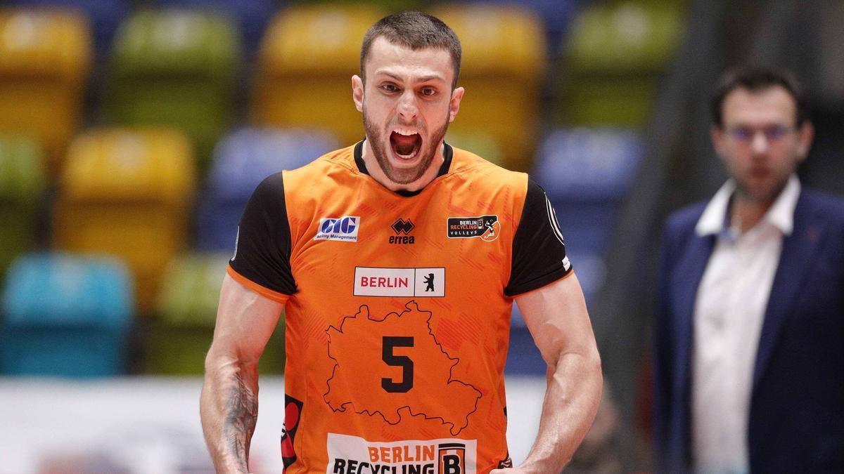 Die Berlin Volleys haben ihr Auswärtsspiel in der Champions League gewonnen