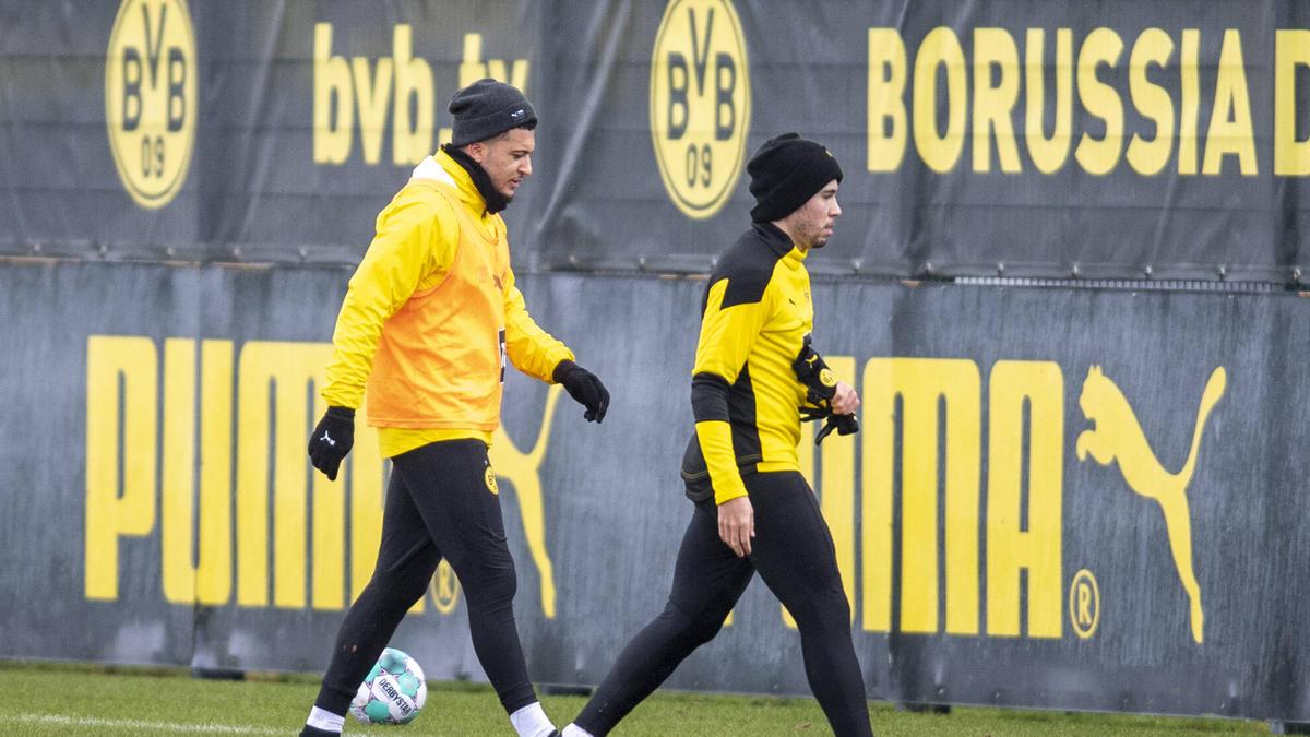 Jadon Sancho und Raphael Guerreiro könnten dem BVB beim FC Bayern fehlen