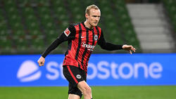 Eintracht-Profi Sebastian Rode ist froh über den Verbleib von Trainer Adi Hütter