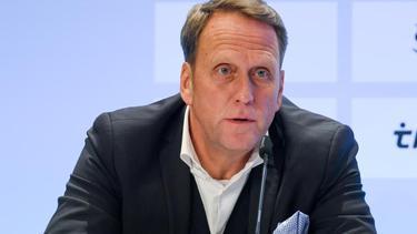 Steffen Schneekloth, dritter stellvertretender Sprecher des Präsidiums der DFL Deutsche Fußball Liga e.V. und Präsident von Holstein Kiel