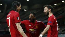 Manchester United zündete ein Feuerwerk in der Europa League