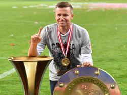 Achter Meistertitel in Folge für Salzburg, zweiter für Jesse Marsch (hier 2020)