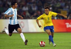 Olympia 2008: Argentinien demütigt Brasilien