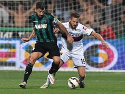 Francesco Magnanelli (l.) verlängert bei Sassuolo Calcio