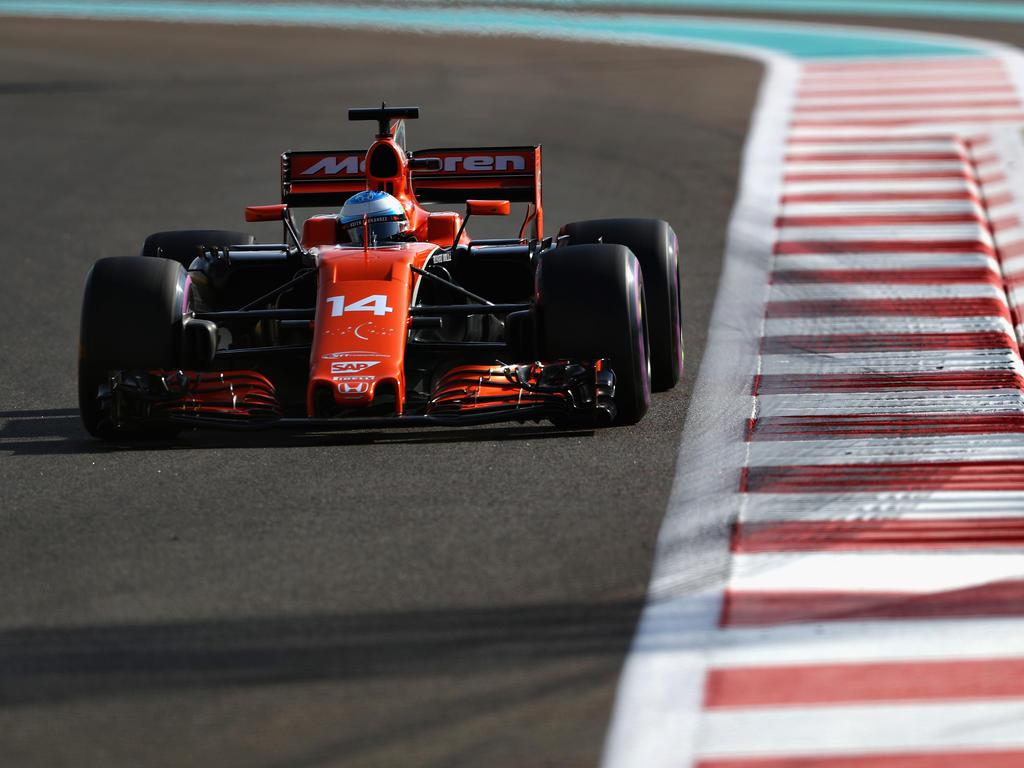 McLaren fuhr der Spitze in der letzten Saison weit hinterher