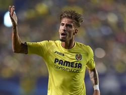 Castillejo con el Villarreal en Champions. (Foto: Getty)