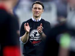 Niko Kovac hielt sich beim Jubeln zurück