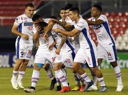 Los jugadores del Nacional celebran el segundo gol contra el Botafogo. (Foto: Imago)