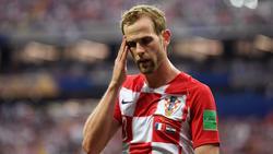 Kroate Ivan Strinic vom AC Mailand muss pausieren