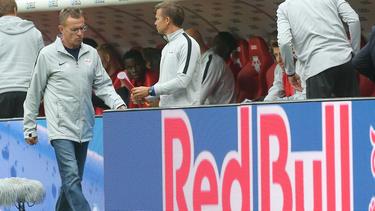 Ralf Rangnick freut sich auf das Duell gegen Salzburg