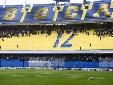 El campo de Boca está listo para el partido de hoy. (Foto: Getty)