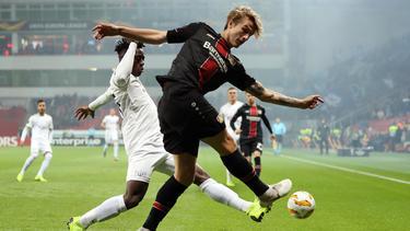 Tin Jedvaj erzielte den Siegtreffer für Leverkusen