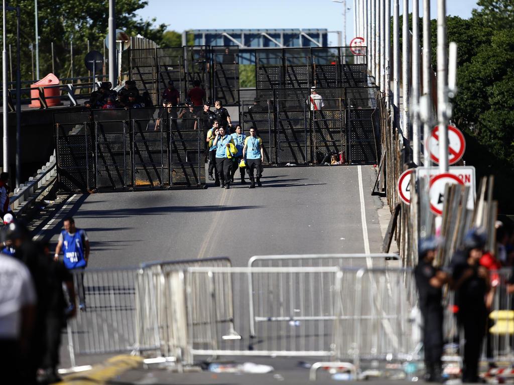 Das Sicherheitskonzept rund um das Estadio Monumental schlug fehl. © Getty Images/Demián Alday