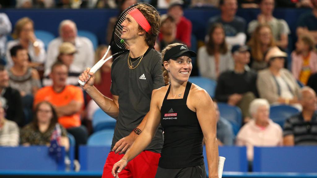 Wie weit kommen Angelique Kerber und Alexander Zverev?