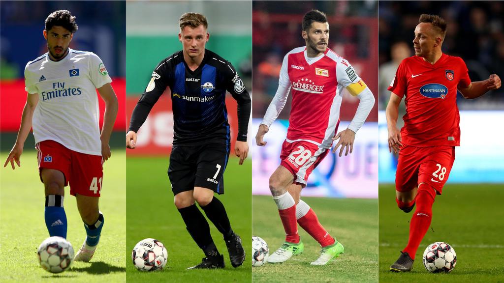 Vier Teams machen sich Hoffnungen auf den Aufstieg