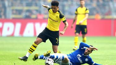 Spielt Jadon Sancho auch in der nächsten Saison beim BVB