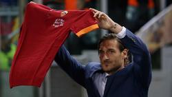 Wird den AS Rom wohl auch verlassen: Francesco Totti