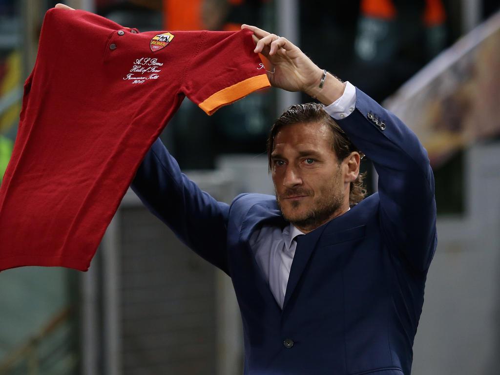 Auch Francesco Totti dürfte der Roma den Rücken kehren