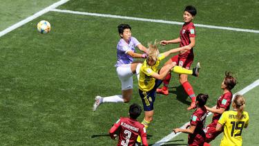 Schweden schlägt Thailand bei der Frauen-WM mit 5:1