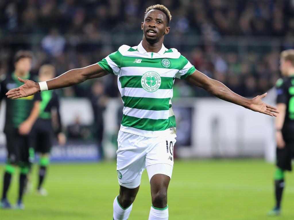 Moussa Dembélé traf in der Champions League für Celtic gegen Mönchengladbach