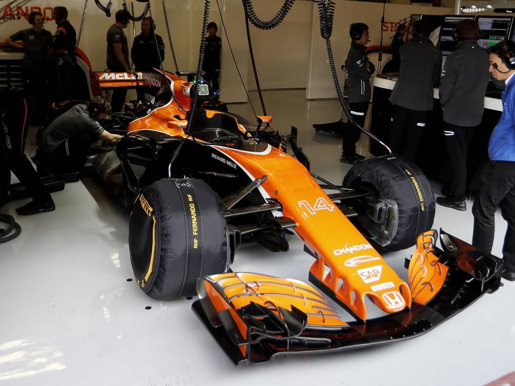 McLaren-Geschäftsführer Zak Brown spricht über eine mögliche Trennung von Honda