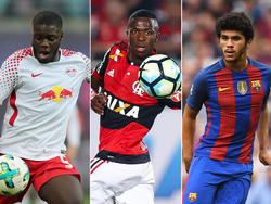 Upamecano, Vinícius Júnior und Aleñá - drei Riesentalente des internationalen Fußballs