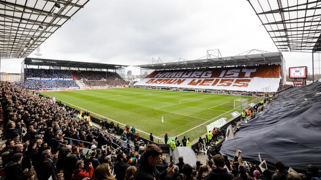 Das Millerntor-Stadion im Hamburger Stadtteil St. Pauli