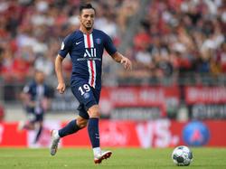 Pablo Sarabia marcó en su primer partido con el PSG.