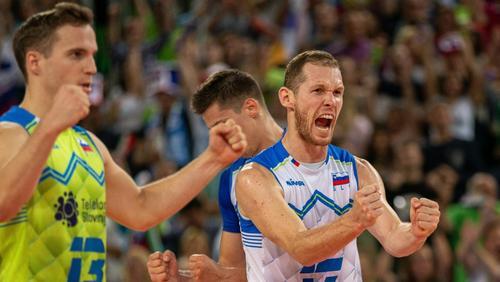 Slowenien erreicht Halbfinale der Volleyball-EM