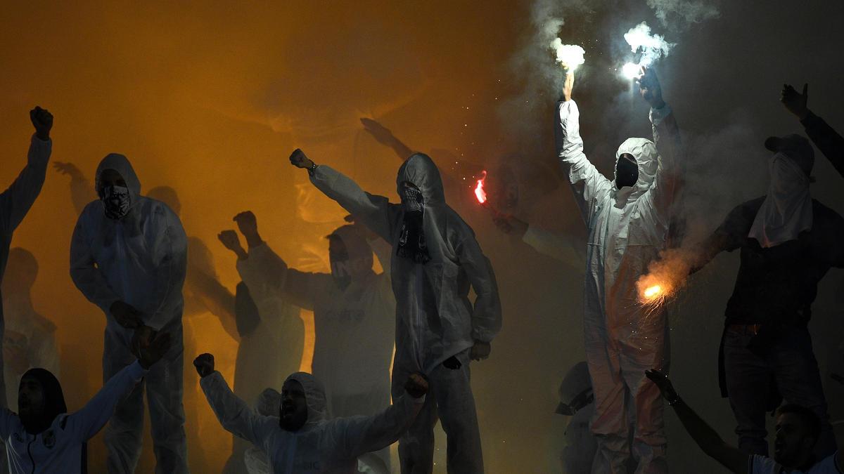 Vor dem Europa-League-Spiel von Eintracht Frankfurt in Guimaraes kam es zu Ausschreitungen