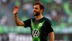 Fühlt sich in Wolfsburg wohl: Admir Mehmedi. Foto: Peter Steffen/dpa