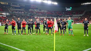 Union Berlin musste sich Slavia Prag geschlagen geben