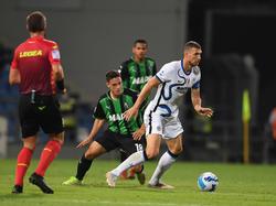 Edin Džeko anotó para el Inter de Milán.